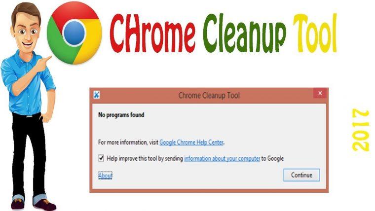 Google Chrome Clean-up Tool