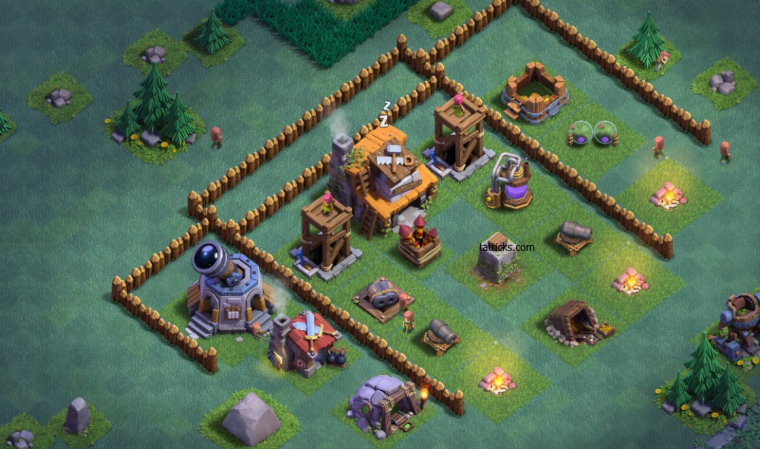 Clash of Clans Builder Hall