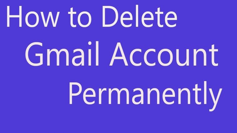 Delete Gmail Account