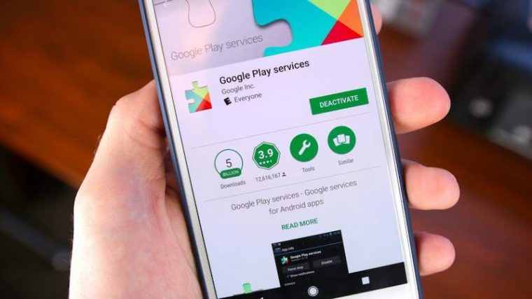 Google Play Services APK Update