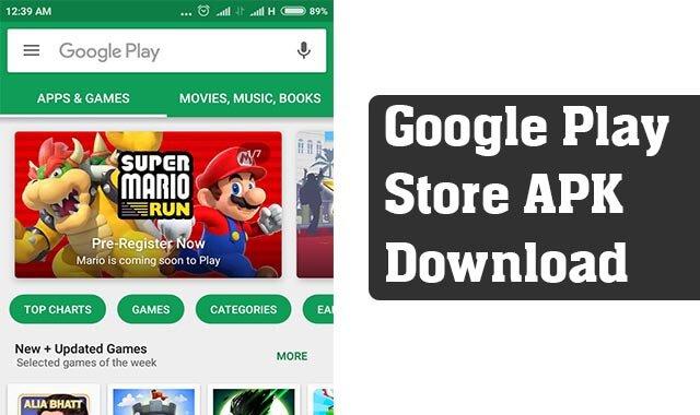Google Play Store APK Beta Version