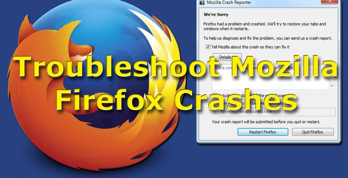 Mozilla Firefox Browser Crashes