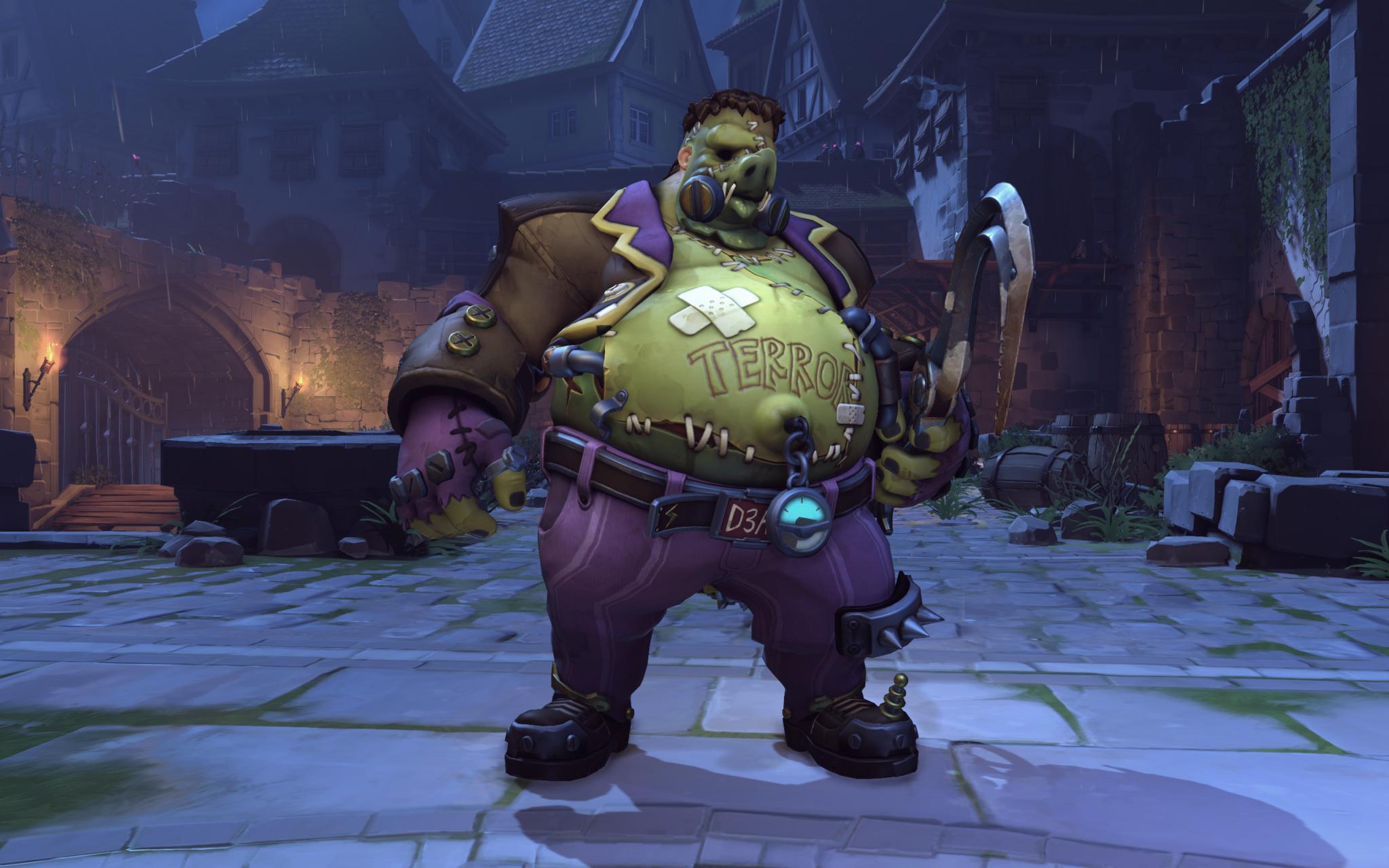 Overwatch Halloween Terror Skins Leaks