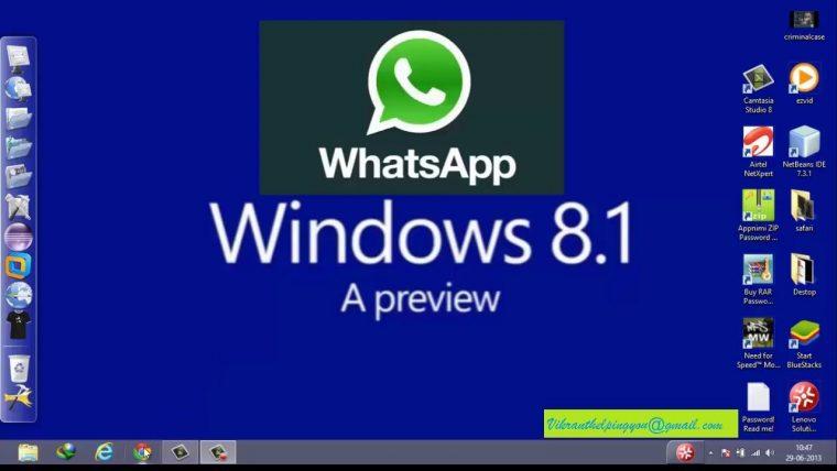 WhatsApp Download Window